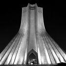 Azadi Tower (Freedom Tower) -Tehran - Iran by Bryan Freeman