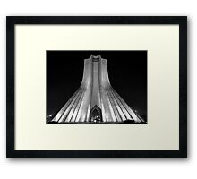 Azadi Tower (Freedom Tower) -Tehran - Iran Framed Print