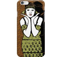 Fanny Brice 1920s Portrait iPhone Case/Skin