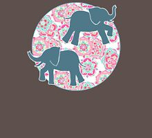 Tiny Elephants in Fields of Flowers T-Shirt