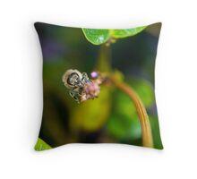 B-Blossum Throw Pillow