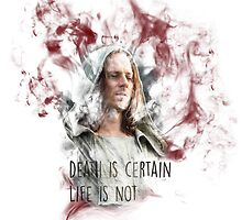 Jaqen H'ghar Quote Life & Death by eelagreen