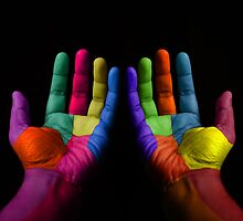 Colorful Hands by Atanas Bozhikov