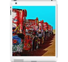 Cadillac Ranch iPad Case/Skin