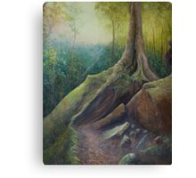 Mermaids Cave #2 Canvas Print