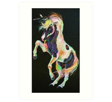 Pony Power II Art Print