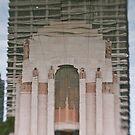 Hyde Park War Memorial - Sydney - Australia by Bryan Freeman