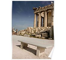 Bench of Acropolis Poster