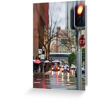 Rain, Rain Go AWAY!  Sydney - Australia Greeting Card