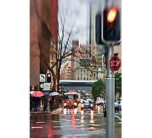 Rain, Rain Go AWAY!  Sydney - Australia Photographic Print