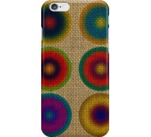 Colourful canvas iPhone Case/Skin
