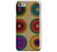 Colourful canvas iPhone Case/Skin