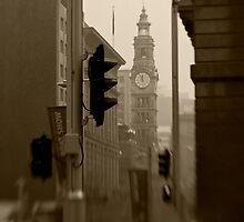 General Post Office Clock Tower - Sydney - Australia by Bryan Freeman