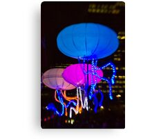 The Jellies! - Sydney Vivid Festival - Australia Canvas Print