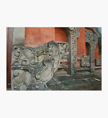 bali stonework Photographic Print