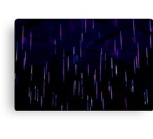 Light Rain - Vivid Festival - Sydney Canvas Print