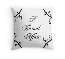 A Formal Affair 2 Throw Pillow