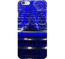 Curled Up & Blue - Vivid Festival - Sydney iPhone Case/Skin