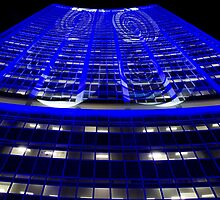 Curled Up & Blue - Vivid Festival - Sydney by Bryan Freeman