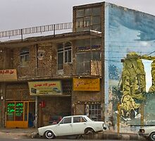 Along the Road to Tehran II - The Martyr - Iran by Bryan Freeman