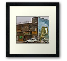 Along the Road to Tehran II - The Martyr - Iran Framed Print