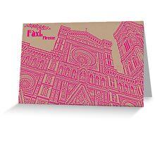 Pinky Firenze Greeting Card