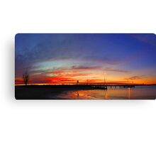 Applecross At Sunset  Canvas Print