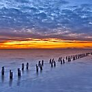 Clifton Springs Sunset by RichardIsik