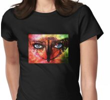 Look Deeper Tee Womens Fitted T-Shirt