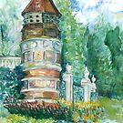 Bird house by velvetkatz
