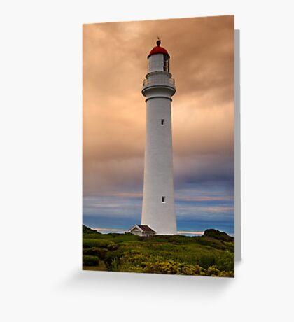 Split Point Lighthouse Greeting Card