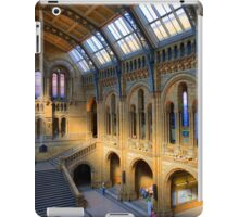 Natural History Museum - A Different Side - London iPad Case/Skin
