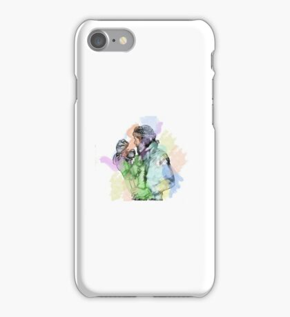 Jim Henson and Kermit - Colour splash iPhone Case/Skin