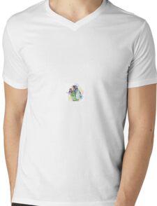 Jim Henson and Kermit - Colour splash Mens V-Neck T-Shirt