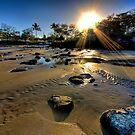 Elliot Heads sunset by Richard Majlinder