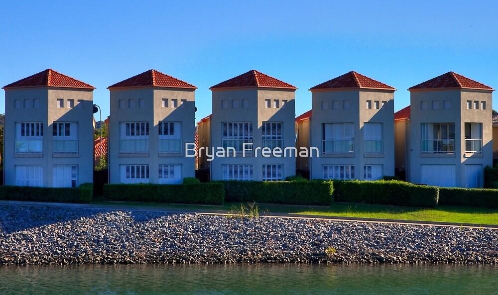 Five of a Kind | Settlement City | Port Macquarie | Australia by Bryan Freeman