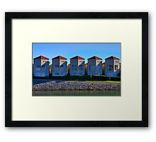 Five of a Kind | Settlement City | Port Macquarie | Australia Framed Print