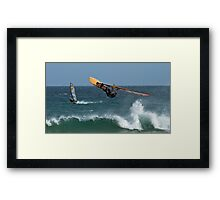Looking For Davy Jones Locker - Elouera Beach - Sydney - Australia Framed Print