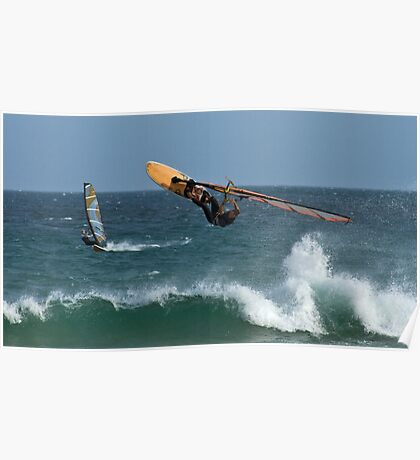Looking For Davy Jones Locker - Elouera Beach - Sydney - Australia Poster