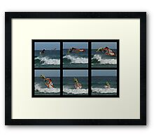 LAUNCHED! - Sydney - Australia Framed Print