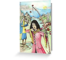 The Arrows Of Love Greeting Card