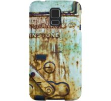 Thomas Shanks & His Tank - Cockatoo Island - Sydney Samsung Galaxy Case/Skin