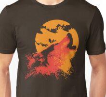 Howling Wolf Unisex T-Shirt