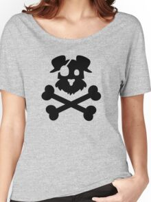 Pirate Pup - Black Women's Relaxed Fit T-Shirt