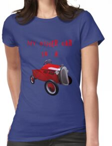 mY oTHER cAR iS a..... Womens Fitted T-Shirt