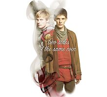 2 Sides Same Coin MERLIN by eelagreen