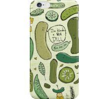 Pickles iPhone Case/Skin