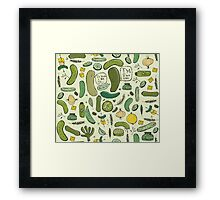 Pickles Framed Print
