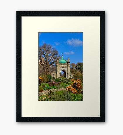 The Royal Pavilion - Brighton - England Framed Print