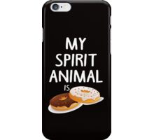 My Spirit Animal Is Douts iPhone Case/Skin
